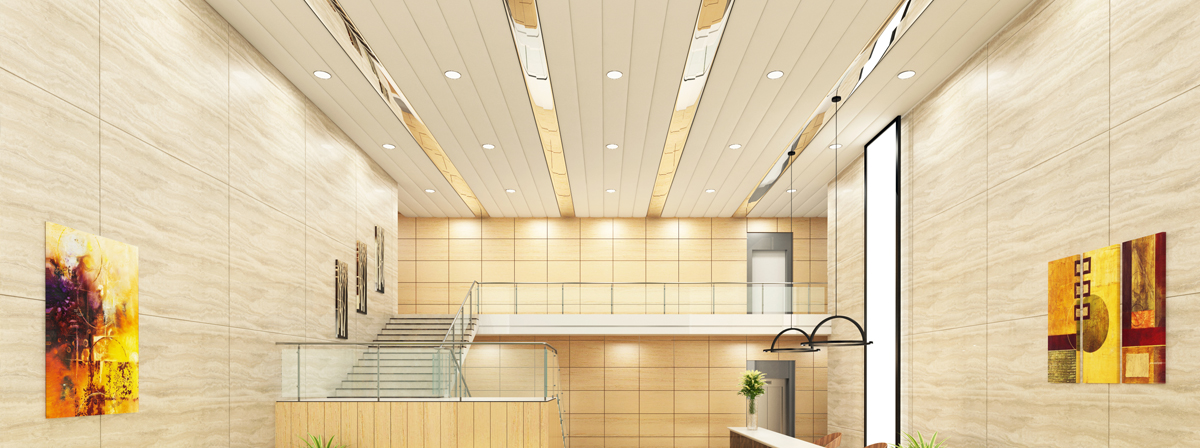 Intersil Metallic Products, Thane - Manufacturer of Linear False Ceiling